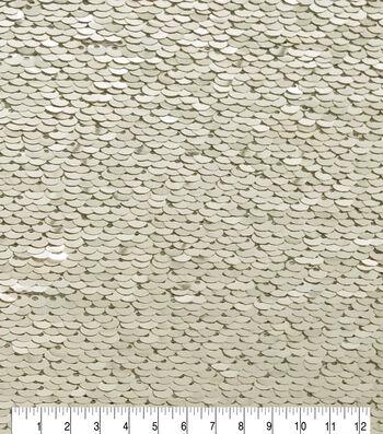 Fashion Sequin Fabric 51''-Champagne