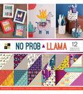 DCWV 36 Pack 12\u0027\u0027x12\u0027\u0027 Premium Stack Printed Cardstock-No Prob Llama