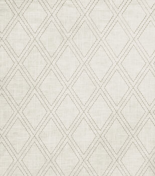 "Jaclyn Smith Lightweight Decor Fabric 54""-Alvin/Dove Gray"