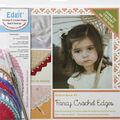 Ammees Babies Edgit Piercing Crochet Hook & Book Set-Fancy Crochet Edges