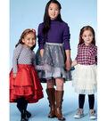 McCall\u0027s Pattern M7498 Girls\u0027 Tiered & Ruffled Skirt-Size 3-6