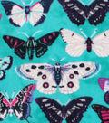 Anti-Pill Fleece Fabric 59\u0022-Monarch Butterflies