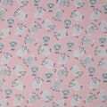 Soft & Minky Fabric-Sheep On Pink Tossed