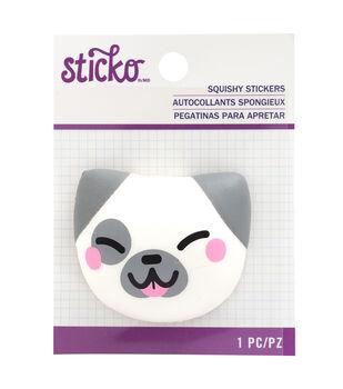 Sticko Squishy Stickers-Dog