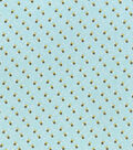 Snuggle Flannel Fabric-Tossed Bees