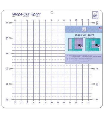 Shape Cut Sprint Slotted Ruler