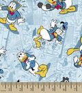Disney Donald Duck Cotton Fabric -Donald Duck Faces