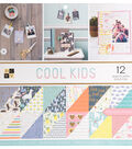 DCWV 36 pk 12\u0027\u0027x12\u0027\u0027 Premium Printed Cardstock Stack-Cool Kids