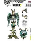 Carabelle Studio 4 pk A6 Cling Stamps-I\u0027m Not Crazy