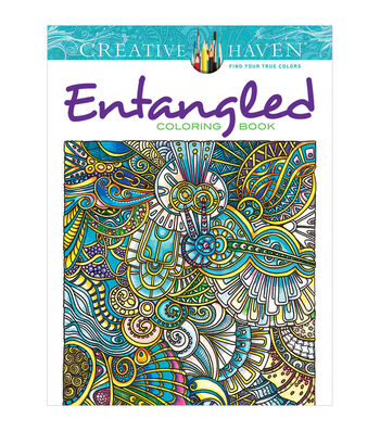 Dover Creative Haven Entangled Coloring Book