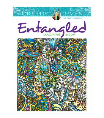 Dover Creative Haven Entangled Coloring Book