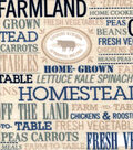 Snuggle Flannel Fabric -Country, Farm & Home