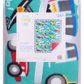 No Sew Fleece Throw 48\u0022-Cars And Trucks