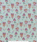 Princess Fairy Ballerina Snuggle Flannel Fabric