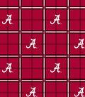 University of Alabama Crimson Tide Flannel Fabric 42\u0022-Plaid