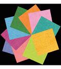 Black Ink 40 pk 6\u0027\u0027x6\u0027\u0027 Origami Papers-Iridescent
