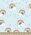 Rainbow Print Fabric