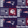 New England Patriots NFL Cotton Fabric by Fabric Traditions