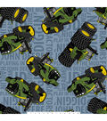 John Deere Fleece Fabric 59\u0027\u0027-Tractors