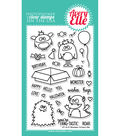Avery Elle 31 pk Clear Stamps-Monsters