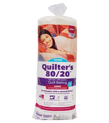 "Fairfield Quilters 80/20-Queen Size 90"" x 108"""