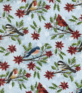 Christmas Cotton Fabric-Christmas Birds