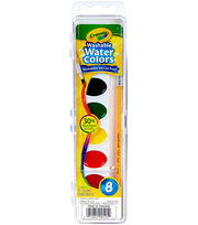 Crayola Washable Watercolors-8 Colors, , hi-res