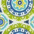 Waverly Multi-Purpose Decor Fabric 54\u0022-Solar Flair/Lime/Indigo