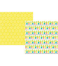 Simple Stories Hello Summer 25 pk Double-sided Cardstock-Catching Rays