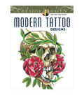 Dover Creative Haven Modern Tattoo Designs Coloring Book
