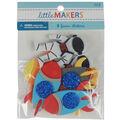 Little Makers Foam Stickers-Space