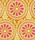 Home Decor Print Fabric-HGTV HOME Ring Around Passion Fruit