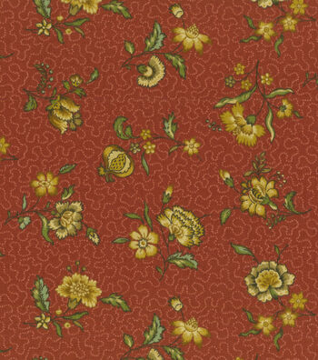 "Home Decor 8""x8"" Fabric Swatch-Pkaufmann Elijah Antique"
