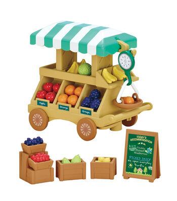 Calico Critters Fruit Wagon