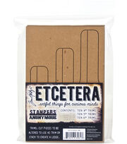 Tim Holtz Etcetera Bracket Trims, , hi-res