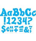Blue Sassy Solids 5\u0022 Letters