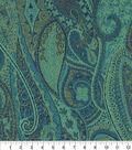 Optimum Performance Multi-Purpose Decor Fabric 54\u0027\u0027-Aegean Paisley