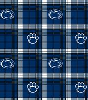 "Penn State University Nittany Lions Fleece Fabric 60""-Plaid, , hi-res"