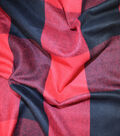 Sportswear Acrylic Fabric-Red & Black Buffalo Checks
