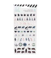 Heidi Swapp Wolf Pack Puffy Stickers, , hi-res