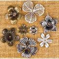 Prima Marketing Mechanicals Metal Vintage Trinkets Flowers Mini