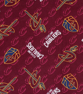 Cleveland Cavaliers Cotton Fabric 44''
