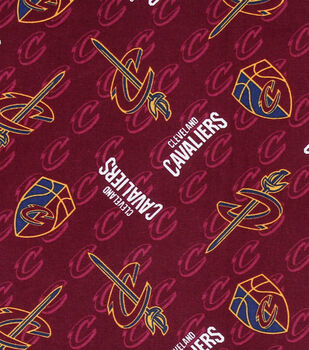 Cleveland Cavaliers Cotton Fabric