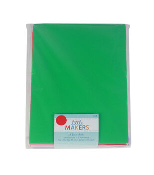Little Makers 9X12'' Foam Value Pack-Non Adhesive