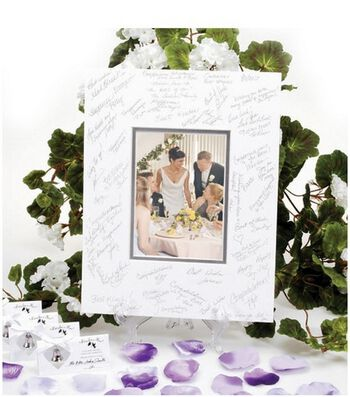 """Signing Mat For 5""""x7"""" Photo Fits 11""""x14"""" Frame"""