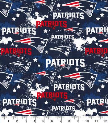 New England Patriots Cotton Fabric-Distressed