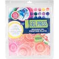 Gel Press 12\u0027\u0027x14\u0027\u0027 Reusable Gel Printing Plate