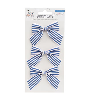 Maggie Holmes Fabric Bows-Sunny Days