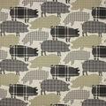 Richloom Studio Multi-Purpose Fabric-Piggy Print Sage
