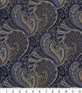 Waverly Multi-Purpose Décor Fabric 9\u0022x9\u0022 Swatch-Knightsbridge Porcelain